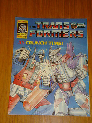 Transformers British Weekly #86 Marvel Uk Comic 1986