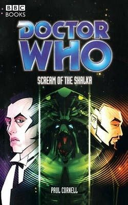 Doctor Who the Scream of the Shalka by Paul Cornell Paperback Book