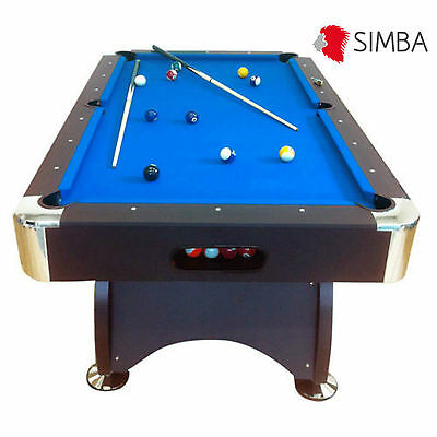 7 Ft blue Pool Table Game billiards table Playing Cloth Indoor Billiard Sports