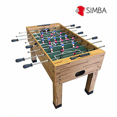 Soccer Football Fusball Play Table Wooden Table Family Game Maracana