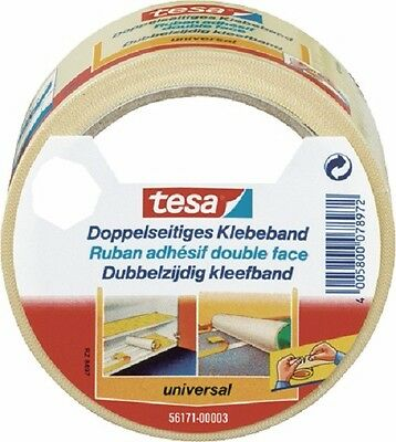 Tesa Double-face Tapes universal 56171/3, 50 mm x 10 m, Film quality