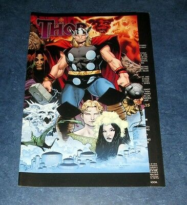 THOR #604 1:15 gatefold variant 1st print MARVEL comic 2010 THE MIGHTY COIPEL NM