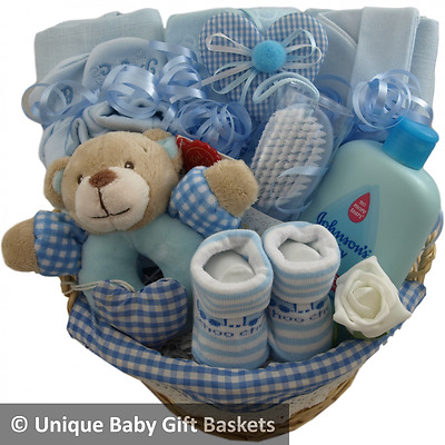 Baby gift basket/hamper boy baby shower nappy cake new baby gift maternity gift