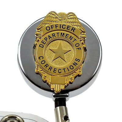 DEPARTMENT OF CORRECTIONS Officer Badge Reel ID Security