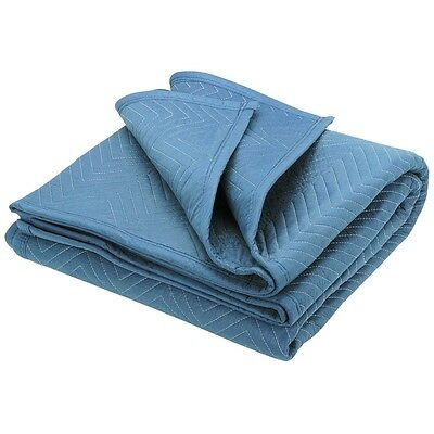 """80"""" X 71"""" Mover's Blanket Blue - Moving Supplies Sport Utility - BRAND NEW!!"""