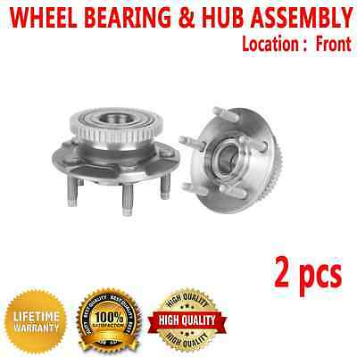 2pcs FRONT Wheel Hub and Bearing Assembly for FORD THUNDERBIRD 1991-1997