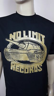No Limit Records Black T-shirt  Tee  Old School Hip Hop / Rap Free Shipping