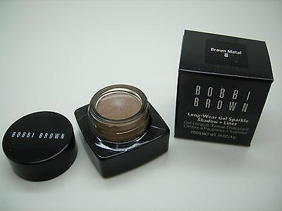 Bobbi Brown Brown Metal, Light Grey-Brown Long-Wear Gel Sparkle Shadow + Liner