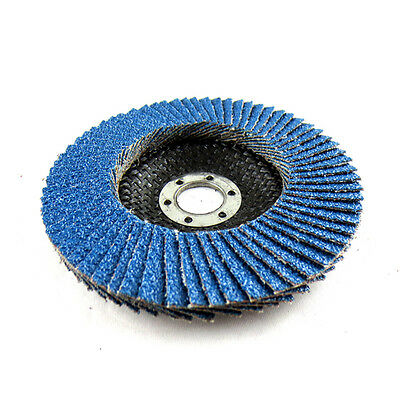20pcs 5''/125MM Zirconia Cutting Flap Disc Angle Grinder Metal Sanding Cutter