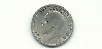 Great Britain Uk 1928 Florin Silver  Coin