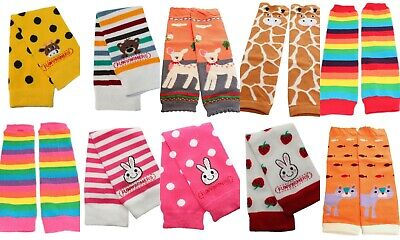 Winter Baby Kid Boy Girl Arm Leg Warmers Age 3 months to 8 years old