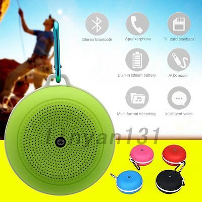Portable Wireless Bluetooth Stereo Bass Speaker Support TF USB Music Useful