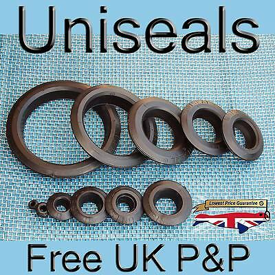 "Uniseals (pack of 5) from £3.96 up to 4"" inch koi tank connector hydroponics"