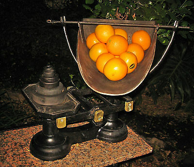 Very Large Vintage Grocer's Scales