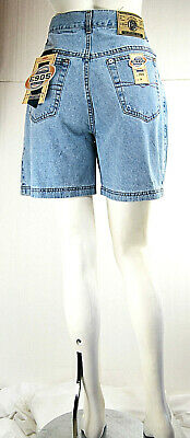 Jeans Corti Donna Shorts Pantaloni E905 Made in Italy D487 Tg 33