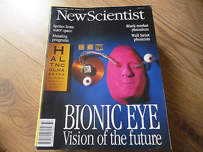NEW SCIENTIST MAGAZINE*No. 1991 AUGUST 19 1995 *ENGLISH*WEEKLY*BIONIC EYE