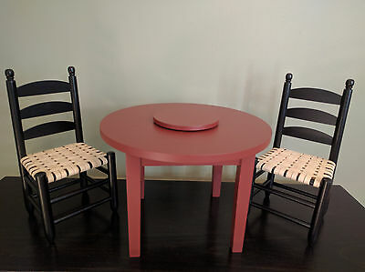 American Girl Addy Table & Chairs - Retired - New in box