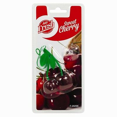 Long Lasting Car van taxi office Sweet Cherry Air Freshener Hanging Fresh Smell