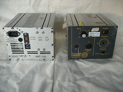 PACE MBT-100 Desoldering Stations Lot of 2 for Parts,Repair or Restoration