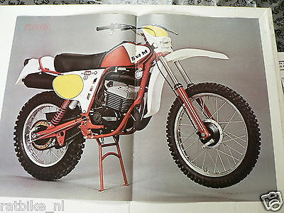 A036- Poster Swm Ls 250 Gs Mx Cross Bike Motorcycle 1978 Model