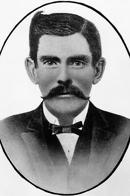 "New 5x7 Photo: Gambler and Gunfighter John ""Doc"" Holliday, American Old West"