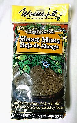 Mosser Lee Soil Cover Sheet Moss 325 Sq In. NEW