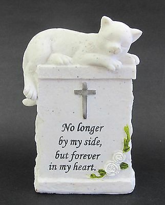 Pet Memorial Plaque -Cat, Resin Stone Look Plaque for your Cat's Resting Place