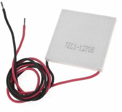 Sourcingmap DC 12V 8A Semiconductor Refrigeration Tablet Cooling Chip Peltier