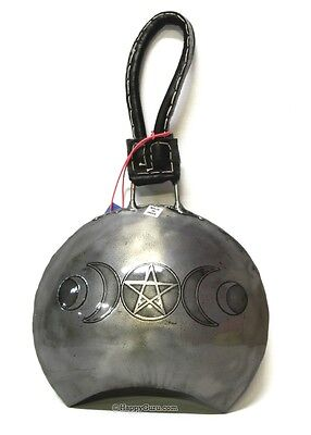 """""""PENTAGRAM"""" COW BELL SOUND ENERGY & SPACE CLEARING BELL  (16cm)"""