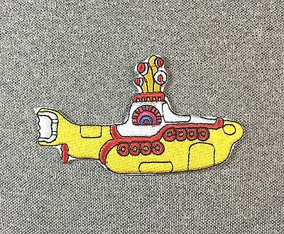 The Beatles Yellow Submarine Patch 3.5in iron on patch Music Rock Band si