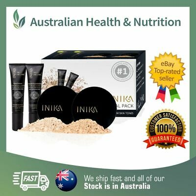Inika - Trial Pack - Vegan & Organic - All 4 Shades Available + Free Sample