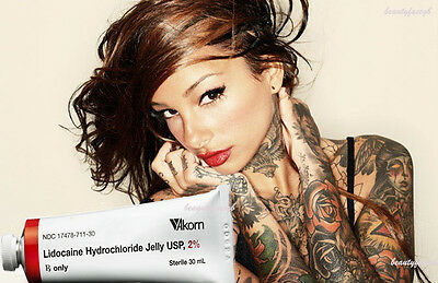 Best tattoos,numb waxing,laser,Microneedle cream. 30gmX1  2% lidocaine gel