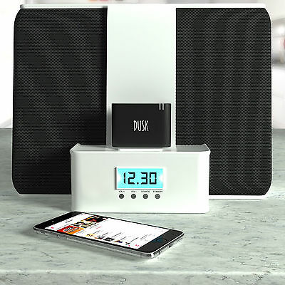 Dusk® 30 Pin Bluetooth Adapter 4.1 for Docking Stations Stream Music Wirelessly