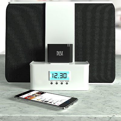 Dusk® 30 Pin Bluetooth Adapter for Docking Stations Stream Music Wirelessly