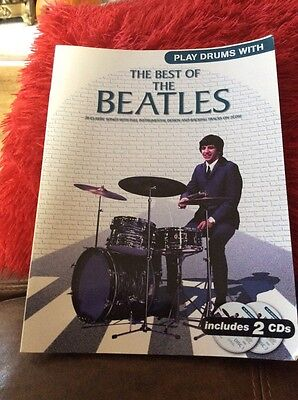 Play Drums With... The Best Of The Beatles. Sheet Music, CD