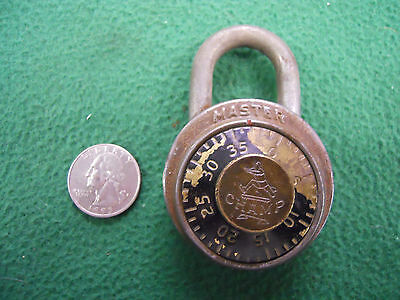Collectible MASTER CHAMP Combination Lock – LoooK!