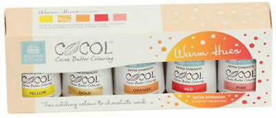 Squires Kitchen COCOL Cocoa Butter Colouring Sets - Choice Of Colours