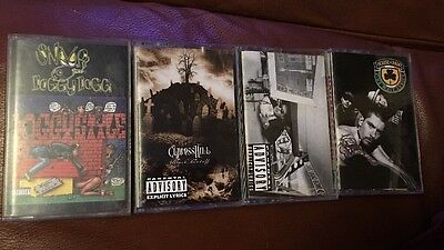 Lot 4 Vintage Beastie Boys House of Pain Snoop Dogg Cypress Hill Cassette Tapes