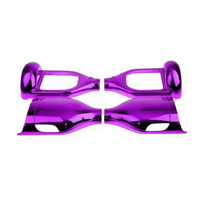 """Replacement 2 Wheel Self Balance Hoverboard Scooter Shell Cover 6.5"""" Purple"""