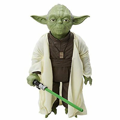 """Star Wars 20"""" Yoda Giant Action Figure Toy Play New"""