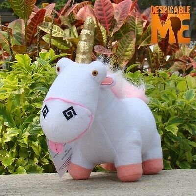"Despicable Me Movie Character Unicorn Plush Toy 8"" Stuffed Animal Doll"