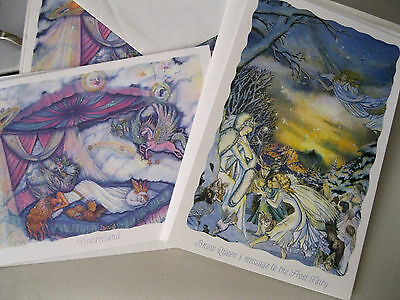 "Kirks Folly ""snow Queen' & Dreamland""  8 New Note Cards-Beautiful 2 Designs-Look"