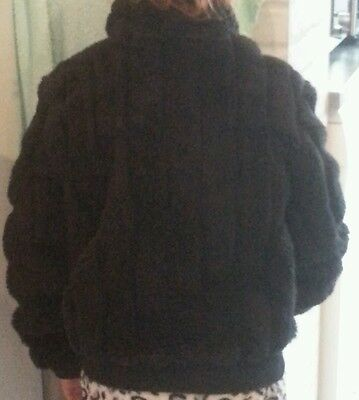 Beautiful Girls black thick warm fur coat 8 years from Nottinghill