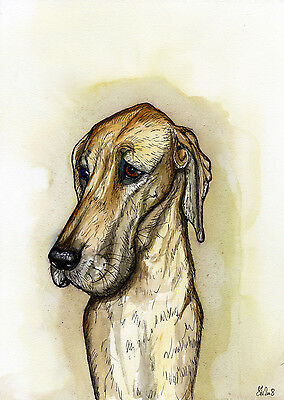 Great Dane  Art Dog Print