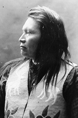 New 5x7 Native American Photo: Yellow Wolf, Nez Percé Indian Warrior - c. 1909