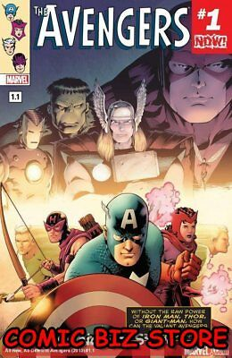 Avengers #1.1 (2016) 1St Printing Bagged & Boarded Marvel Now