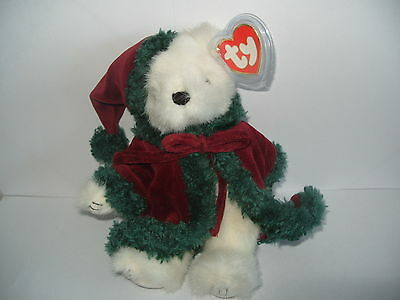 Ty Beanies - Attic Treasures Klause Christmas Bear With Tag