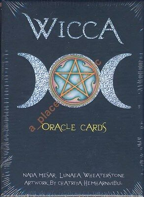 NEW Wicca Oracle Cards Lo Scarabeo Lunaea Weatherstone Nada Mesar