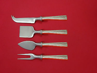 New Fashion Elsinore By International Sterling Steak Knife Set 4pc Large Texas Sized Custom Antiques