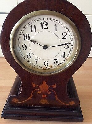 Vintage Mahogany cased Balloon Clock